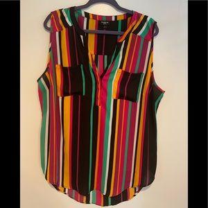 Striped Torrid Harper blouse